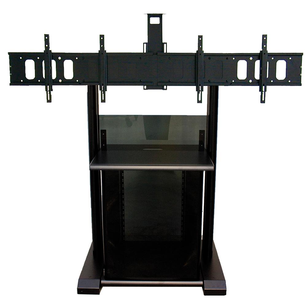 11200 PLATEA PREMIUM – Dual flat panel mount stand