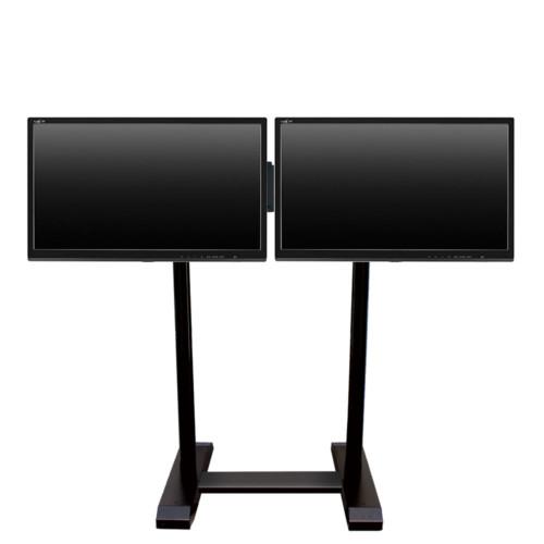 11400 SCENARIO PREMIUM – Dual floor flat panel stand