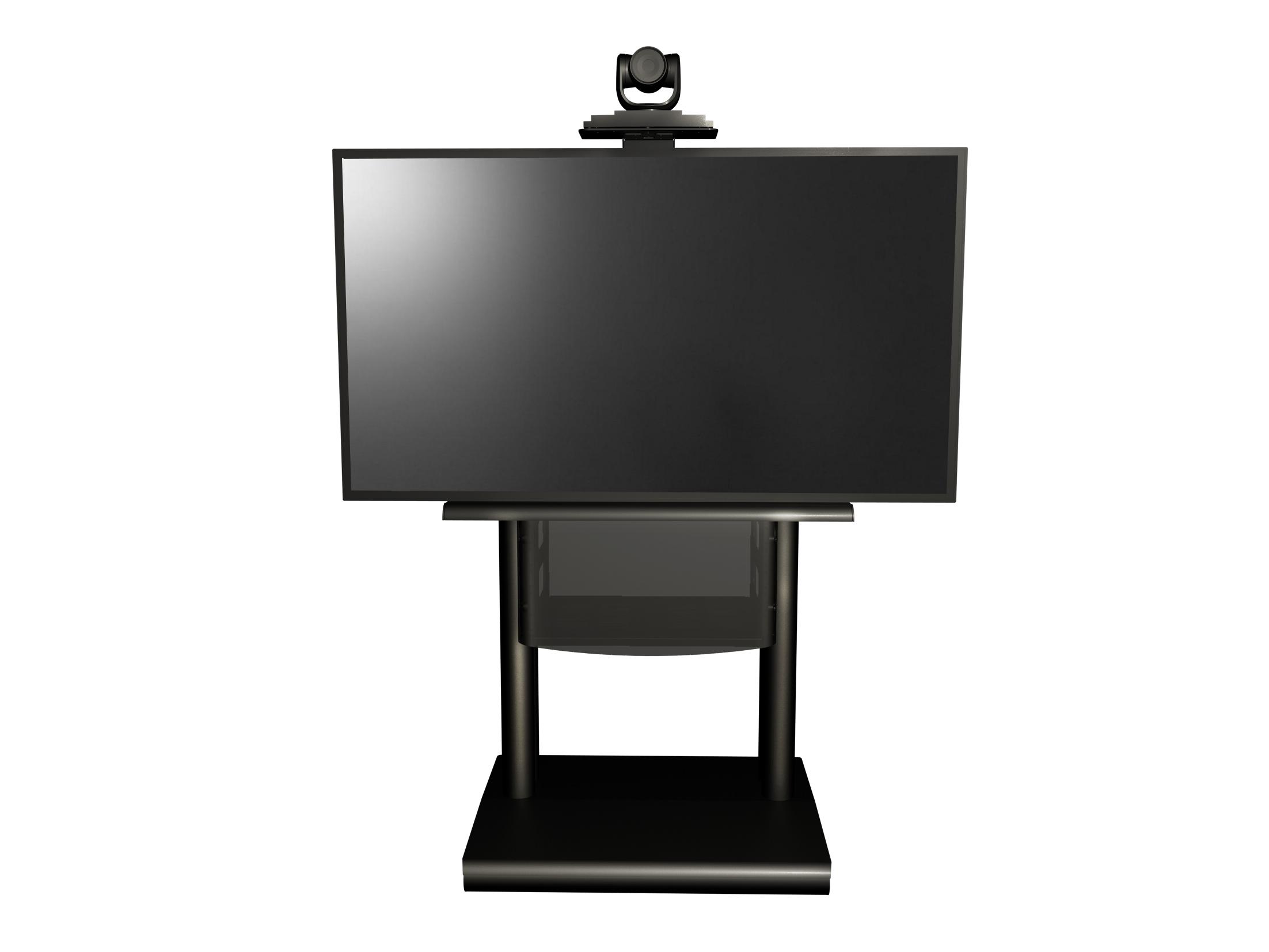 Platea supporto monitor da terra con ruote euromet - Supporto porta tv ...