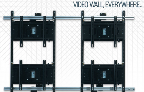 struttura video wall