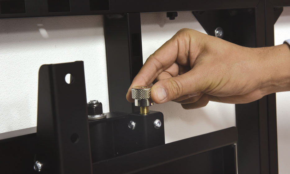calibrazione micrometrica videowall
