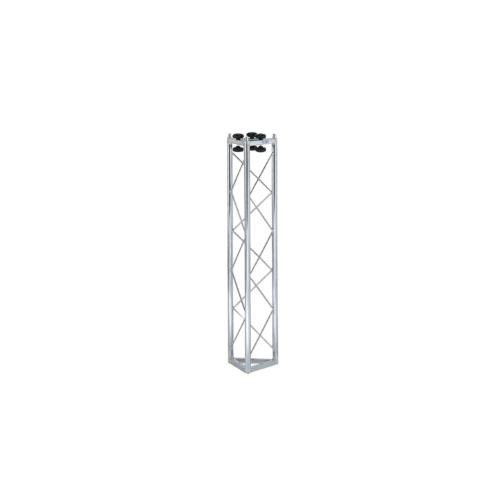 00840 Traliccio triangolare in acciaio zincato bianco L 1000 mm (americana)