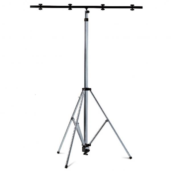 01059 Lighting stand, steel, galvanized with telescopic leg
