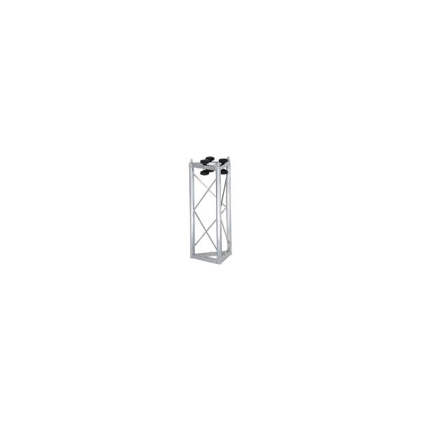 Traliccio triangolare in acciaio zincato bianco L 500 mm