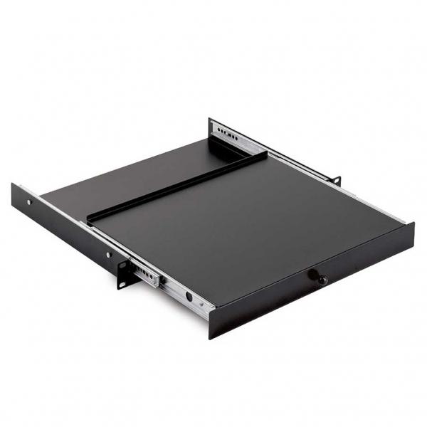 04330 Piano rack estraibile, lamiera, 1 unità
