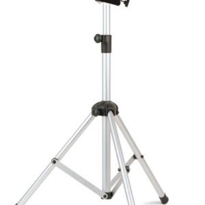 05322 Dia/Video floor stand, aluminium tripod legs, tilting shelf