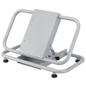 08200 Supporto monitor plasma/lcd da terra richiudibile, grigio