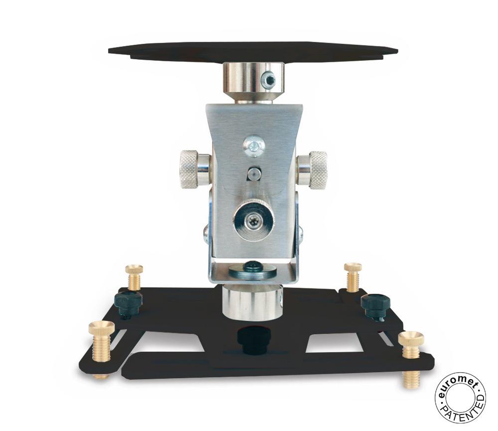 Staffa per videoproiettore universale arakno Standard nero cod. 09057