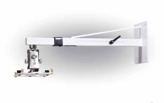 15463 ARAKNO WALL Supporto da parete per videoproiettore telescopico, bianco