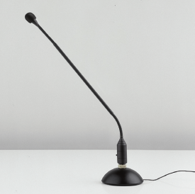 Table Microphone Stand, Steel, Black