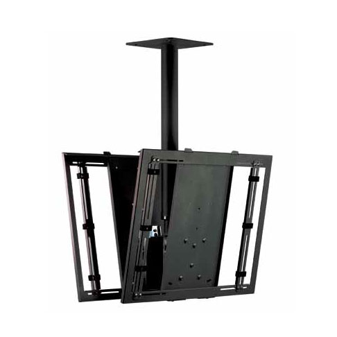 Universal Ceiling Bracket 2 Monitors Adjustable Euromet