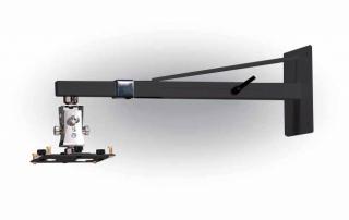 15462 ARAKNO WALL – Supporto da parete per videoproiettore telescopico, nero