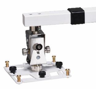 15463 ARAKNO WALL – staffa da parete per videop. telescopico