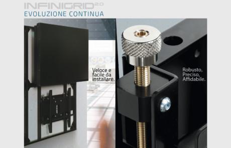 INFINIGRID 2.0 – Modular VideoWall Mounting System
