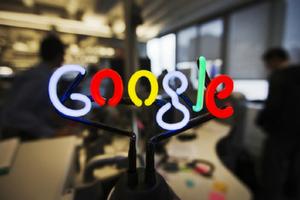 Google flat panel mount
