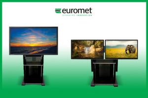 """platea premium supporto per videoconferenza monitor tv fino a 110"""""""