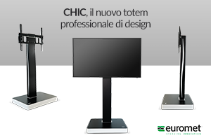 15000 CHIC totem professionale di design